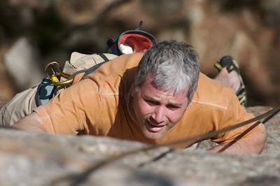 Gordon climbs Baby 5.6**