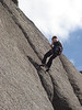 Betts first Buffalo abseil at the Horn