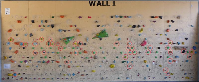 Burnley Bouldering Wall 2013-08