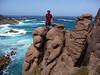 Luke atop Amnesia, Cape Woolamai.
