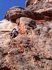 Mei Li  on Cantata , Mt. Arapiles (VCC Arapiles trip, Sept. 06)