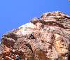 Cam leading Cantata, Mt. Arapiles (VCC Arapiles trip, Sept. 06)