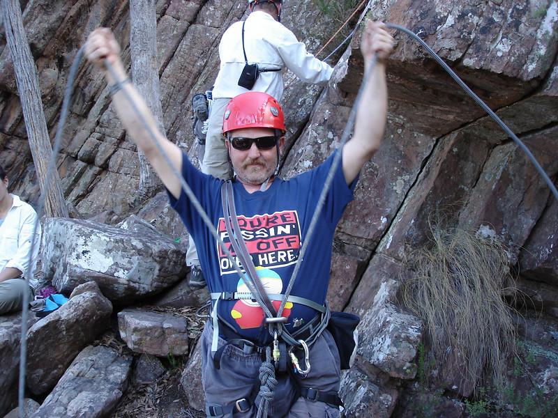 The inimitable Mr. Glenn Robbins! (Cathedral Ranges trip, Feb 07)