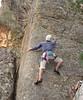 Geoff, Red Rocks, Grampians (VCC 'Yerba' crew Grahams Creek/Red rocks trip May 07)