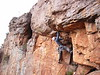 Ben on The Martyr, Colosseum Wall, Arapiles.