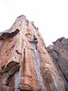 Ben on The Rack, Colosseum Wall, Arapiles.
