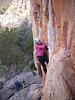 Grace on The Rack, Colosseum Wall, Arapiles.