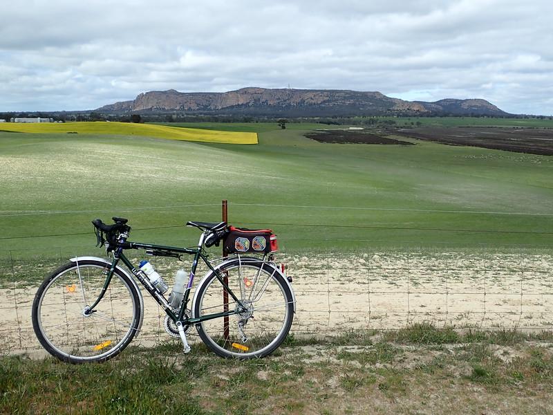 Cycling around Mt Arapiles