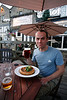 Flat warm beer + 35'C temperatures = shit. The Yorkshire pudding was excellent however (eaten in York!)