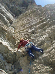 Vanessa on the awesome corner pitch of Centre Fold (22)