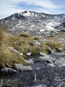 Lovely alpine scenery