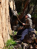 Hywel the belayer, Beautiful Possibilities, Arapiles