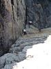 Lynn on Anthrax Ripple, Town Cliffs, Point Perpendicular.