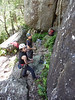 Sloth Buttress, Thompson's Point, Nowra.