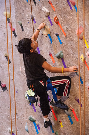 Planet Granite competing at 2014 NorCal Youth Climbing League