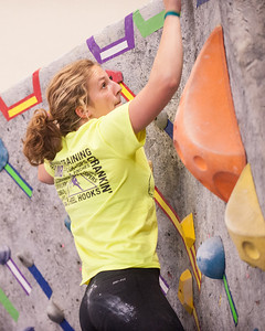 Rocknasium competing at 2014 NorCal Youth Climbing League