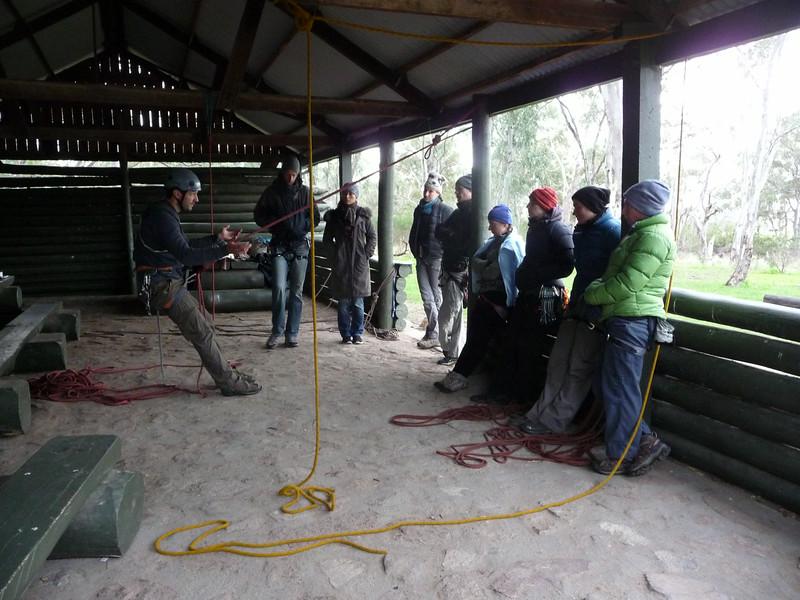 VCC Self Rescue course, Arapiles.
