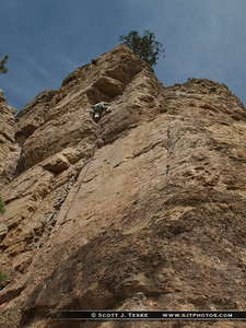 Scott negotiating the X Blocks on First Blood 5.8+***