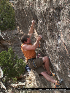 Matt sending Super Phrique 5.13a **