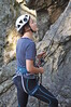 Kate belaying