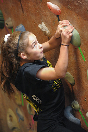 Youth Climbing League - Bridges Rock Gym, 2013-01-19