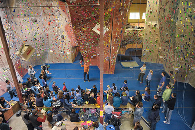 Youth Climbing League Competition at Vertex, Santa Rosa, 2013-02-02