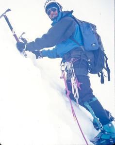 Andy Wright, Ferrari route, Alpamayo  1996