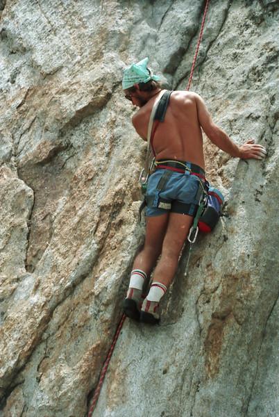 Andy Wright, Yosemite.  1985