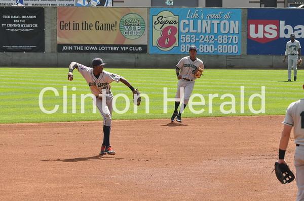 Cedar Rapids at Clinton LumberKings (9-2-13)