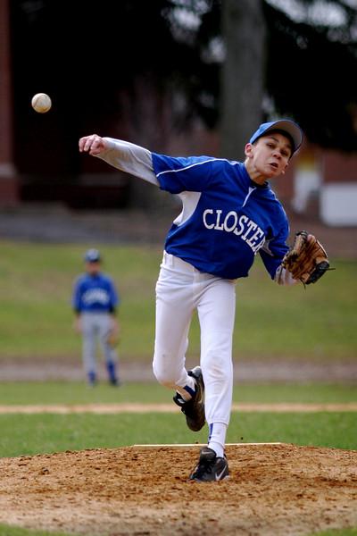 Closter travel baseball, spring 2007<br /> Javier Montalvo