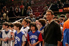 Knicks vs. Heat<br /> Madison Square Garden<br /> Closter kids' trip<br /> <br /> The Closter kids got to play on the floor at Madison Square Garden for 5 minutes before the game.