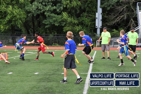 Boys & Girls Clubs Flag Football Game 2018