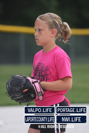 Girls'' Softball (Davidson/ Dark Pink)