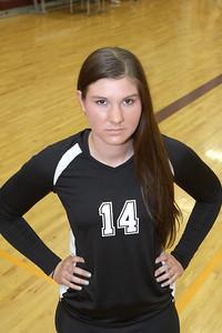 """Heather Ball #14 Middle 6'1"""" from Gilbert AZ. Class of 2013"""