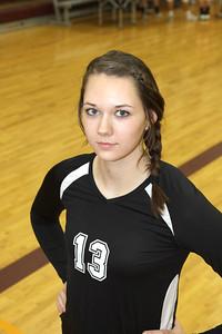"Angela Webb #13 Opposite 6'2"" from Gilbert AZ, Class of 2014"