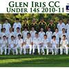 Under 14's<br /> Season 2010/11