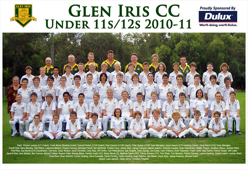 Under 11's & 12's<br /> Season 2010/11
