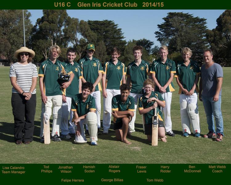 Under 16C's<br /> Season 2014/15