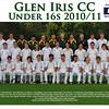 Under 16's<br /> Season 2010/11