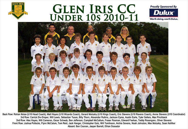 Under 10's<br /> Season 2010/11