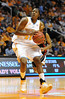 Dec 16, 2009; Knoxville, TN, USA; Tennessee Lady Vols forward Shekinna Stricklen (40) drives to the basket against the Louisville Cardinals during the second half at Thompson Boling Arena. The Lady Vols beat the Cardinals 86-56. Mandatory Credit: Don McPeak-US PRESSWIRE