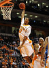 Nov 17, 2009; Knoxville, TN, USA; Tennessee Volunteers forward Renaldo Woolridge (0) goes up for a jam against the UNC Asheville Bulldogs during the second half at Thompson-Boling Arena. The Volunteers beat the Bulldogs 124-49. Mandatory Credit: Don McPeak-US PRESSWIRE