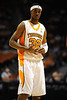 Nov 17, 2009; Knoxville, TN, USA; Tennessee Volunteers guard Scotty Hopson (32) walks onto the court after a time out against the UNC Asheville Bulldogs during the second half at Thompson-Boling Arena. The Volunteers beat the Bulldogs 124-49. Mandatory Credit: Don McPeak-US PRESSWIRE