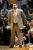 Nov 17, 2009; Knoxville, TN, USA; Tennessee Volunteers head coach Bruce Pearl instructs his team against the UNC Asheville Bulldogs during the first half at Thompson-Boling Arena. The Volunteers beat the Bulldogs 124-49. Mandatory Credit: Don McPeak-US PRESSWIRE
