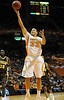 Dec 15, 2009; Knoxville, TN, USA; Tennessee Volunteers center Brian Williams (33) puts up a shot against the Wyoming Cowboys during the second half at Thompson Boling Arena. The Volunteers beat the Cowboys 77-58. Mandatory Credit: Don McPeak-US PRESSWIRE