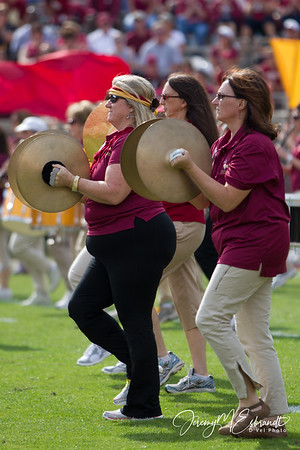 FSU Cheerleading, Fans and Band - Duke @ FSU 2012