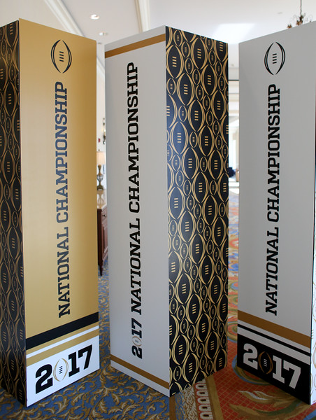 College Football Playoff-National Championship Signage