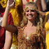 Fans enjoy the game at the Florida State vs. BYU football game held on September 18, 2010 at Doak Campbell Stadium.