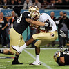 EJ Manuel (3) is sacked during the Champs Sports Bowl on Dec. 29th.