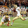 Dustin Hopkins (18) kicks a field goal during the Champs Sports Bowl on Dec. 29th.